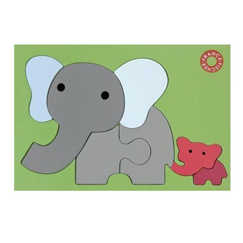 Pussel Elefanter